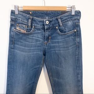 DIESEL Women Size 27 Jeans LOUVELY Boot Cut Flare